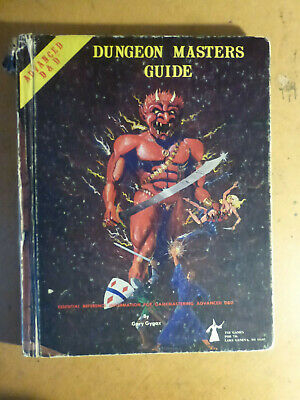 Advanced Dungeons & Dragons  Dungeon Masters Guide AD&D 1st Edition By TSR • 22.50£