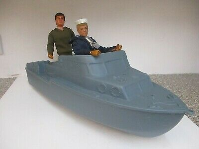ACTION MAN 1970/80s RESCUE PATROL CRAFT BOAT BY CHERILEA • 15£