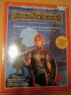Curse Of The Azure Bonds - Forgotten Realms - AD&D 2nd Edition - TSR • 5.10£