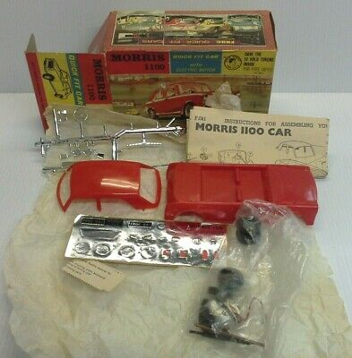 FROG VINTAGE 1960's 1.24 SCALE MOTORISED MODEL KIT MORRIS 1100 (SEE PICS) F041 • 6.50£