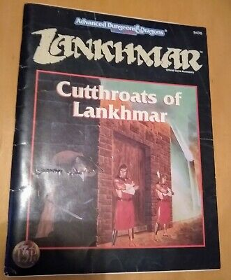 Cutthroats Of Lankhmar - Advanced Dungeons And Dragons 2nd Ed - TSR • 2£