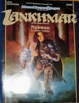 AD&D 2nd Edition Module Lankhmar LNA2 NEWHON With MAP 9305 TSR 47365 • 5£