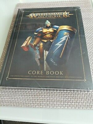 Warhammer Age Of Sigmar The Fantasy Miniatures Game Core Book  • 15.99£
