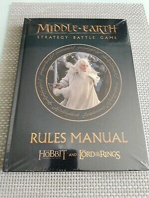 Middle-Earth Strategy Battle Game Rules Manual Games Workshop Lord Of The Rings • 15.99£