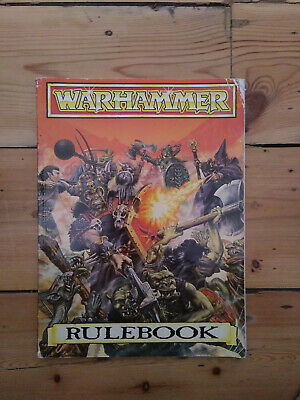 Warhammer Rule Book, Bestiary And Battle Sheets • 1.50£