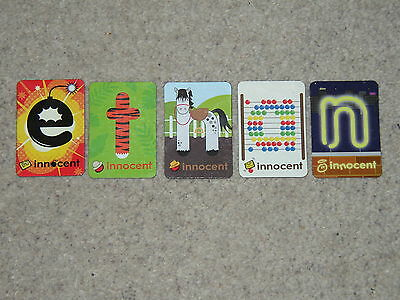 Innocent Alphabet Fridge Magnets -  ETHAN   • 2.99£