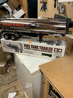 TAMIYA RC 1:14 Scale Galant Eagle Tanker Trailer With Mfu Cable • 395£