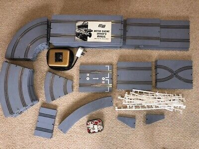Vintage Airfix Model Slot Car Racing Track And Accessories • 1£