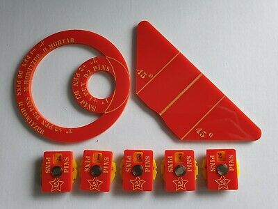 Bolt Action Pin Markers And Templates For Russian Armies • 16£