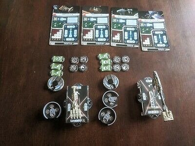 Core Rebel Ships For Star Wars Armada (CR90 And Nebulon) • 24.99£