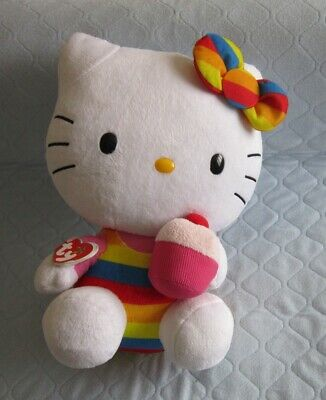 TY Beanie Buddie Collection - Soft Toy - HHello Kitty • 3.50£