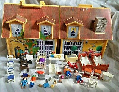 Playmobil 4145 My Take Along Carry Case Doll House & Accessories • 20£