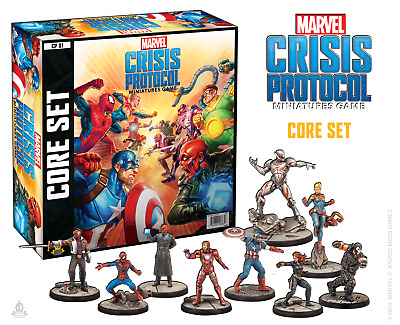 Marvel Crisis Protocol: Core Game Set • 74.99£