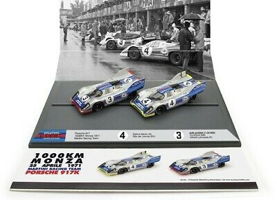Very Rare 1:43 Scale Brumm Porsche 917K Twin Car Set From 1971 - 39 Of Only 200! • 79.99£