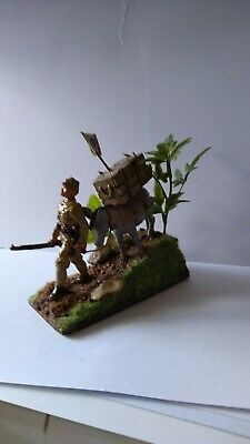 W.w.2 Japanese Solider With Donkey 1:32 Scale Painted • 16.99£