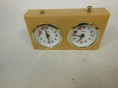Vintage Chess Clock (wind Up) Boxed • 19.99£