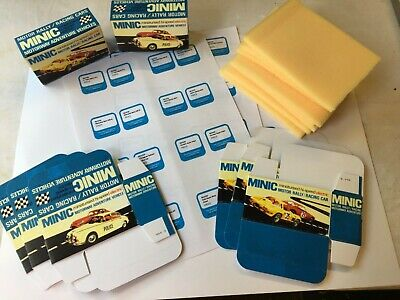 Triang Minic Motorways 8 X Reproduction Boxes • 20£