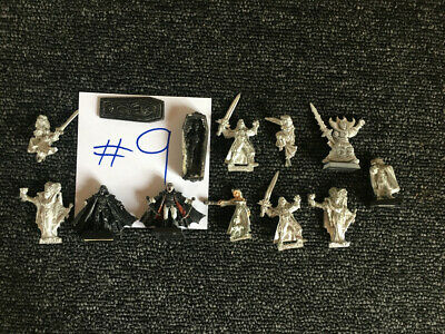 Warhammer GamesWorkshop The Lord Of The Rings Metal Miniatures Lot #9 • 8£