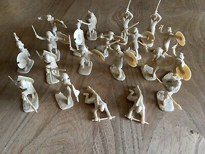 40 X Armies In Plastic Dervish Ansars And Fuzzy Wuzzy (no Boxes) • 1£