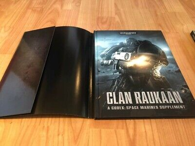 Warhammer 40k Codex Book - Clan Raukaan Space Marine Supplement  • 3£