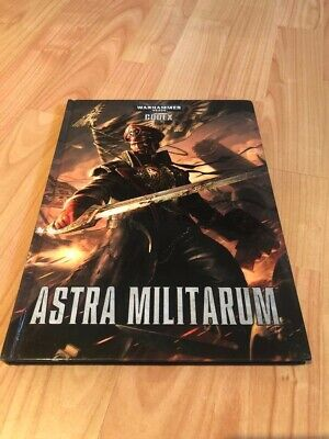 Warhammer 40k Codex Book - Astra Militarum • 3£