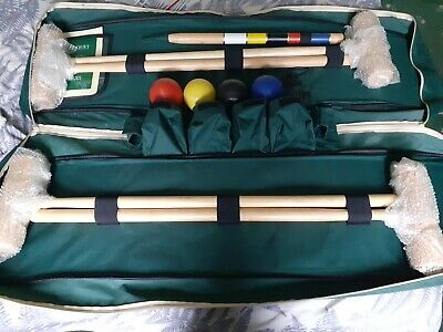 JAQUES CROQUET SET- Immaculate Condition • 75£