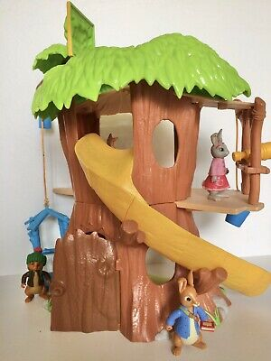 *Peter Rabbit Treehouse And Figure* Toy Playset* • 10£