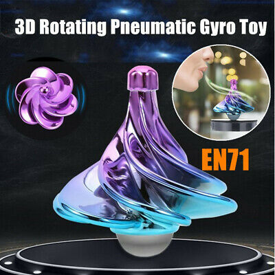 1pcs MINI Kids Wind Gyro Toys Adults Anti Stress Gyro Desktop Spinning Top Toys • 5.59£