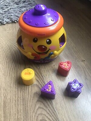 Fisher Price Laugh And Learn Cookie Jar Shape Sorter • 0.99£