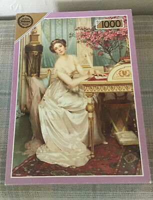 Falcon 1000 Piece Jigsaw - The Love Letter - Complete - VGC • 4.50£