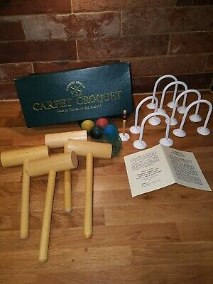 Townsend Carpet Croquet 4 Player Set Indoor Games  • 14.99£
