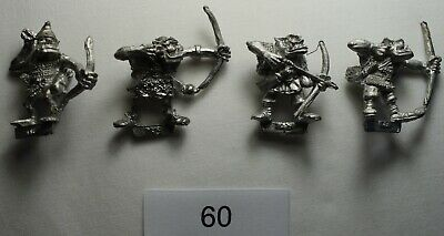 Citadel Miniatures Games Workshop Orc Archers 1980s Vintage/Lead/OOP • 4£