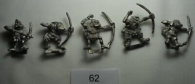 Citadel Miniatures Games Workshop Orc Archers 1980s Vintage/Lead/OOP • 5£
