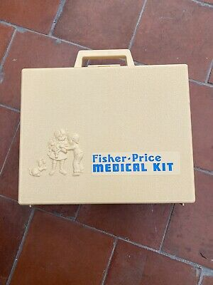 Vintage Fisher Price Medical Kit • 4.80£
