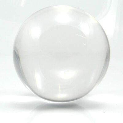 CRYSTAL Clear Acrylic Contact Juggling Ball 60mm/70mm/80mm/90mm/100mm • 13.99£