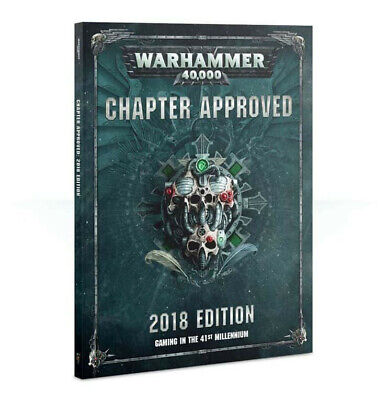 Warhammer 40K Chapter Approved 2018 Book • 4.95£