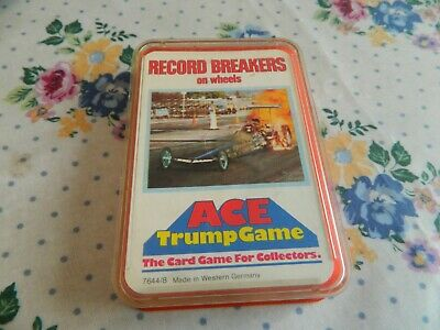 Vintage Ace Top Trumps Card Game- Record Breakers On Wheels. • 7.50£