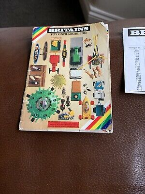 Britains Toy Catalogue 1983 • 10£