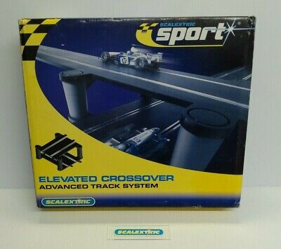 SCALEXTRIC HORNBY 1980's C8295 ELEVATED CROSSOVER BRIDGE TRACK (NEW BOXED) • 16.99£