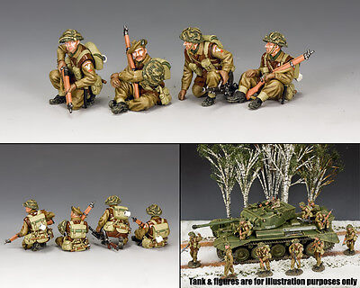 KING AND COUNTRY British Tank Riders Set BBB002 BBB02 • 141.95£