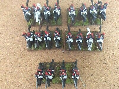 Napoleonic 15mm French Curassiers  Painted 20 Troopers • 10£