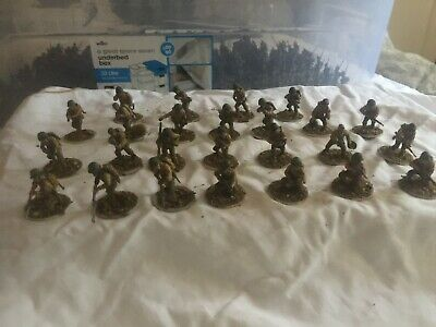 25 Painted 28mm WW2 American Infantry (old Model). Warlord Games/Bolt Action • 18£