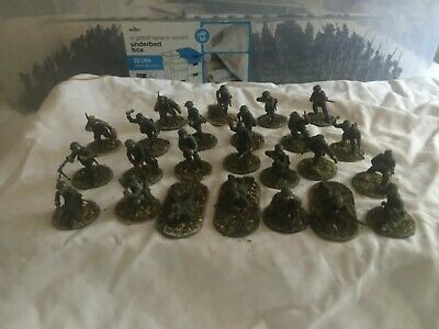 24 Painted 28mm WW2 German Early War Infantry. Warlord Games/Bolt Action • 16£