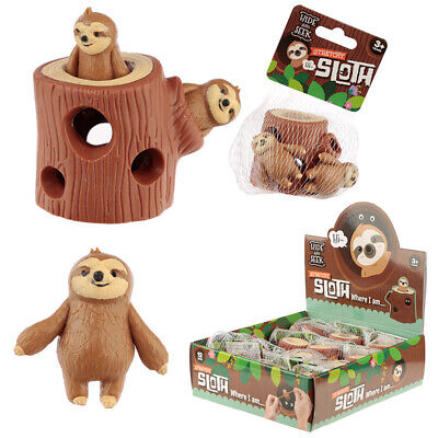 Fun Kids Squeezy Hide And Seek Sloth Toy • 4.99£