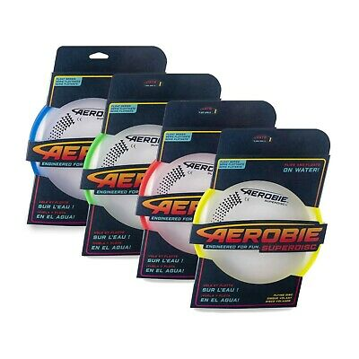 Aerobie Superdisc Flying Disc Frisbee Floats On Water NEW • 12.45£