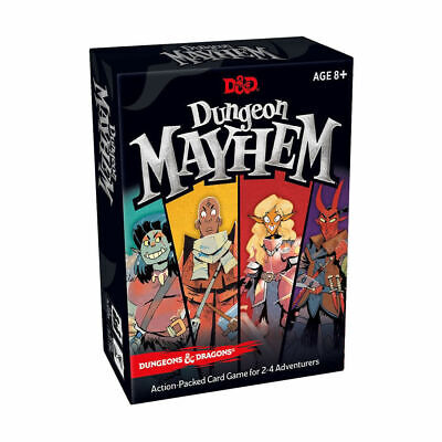 Dungeons & Dragons Dungeon Mayhem Card Game - Brand New & Sealed Kid Gift • 8.99£
