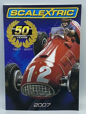 Scalextric Catalogue 1957-2007 Anniversary 50 Years Collectable Edition 76 Pages • 5.99£