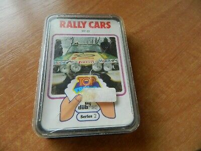 Vintage Dubreq Top Trumps Card Game- Rally Cars (series 2) • 7.50£