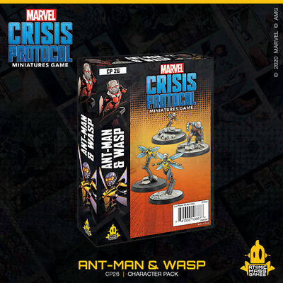 Marvel Crisis Protocol: Ant-Man & Wasp - Just In Stock • 35.99£