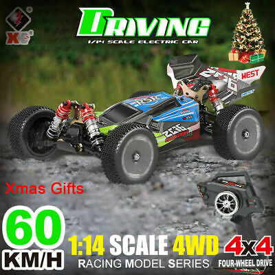 4WD High Speed Fast 60MPH Remote Controlled RC Car 2.4G Large Kids Gifts Toys UK • 79.89£